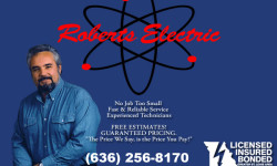 Roberts Electric Serving Stl Louis' electric needs